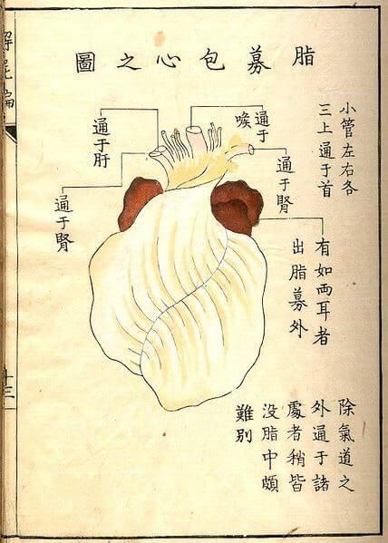 heart by Kaishi Hen 18thC Japan