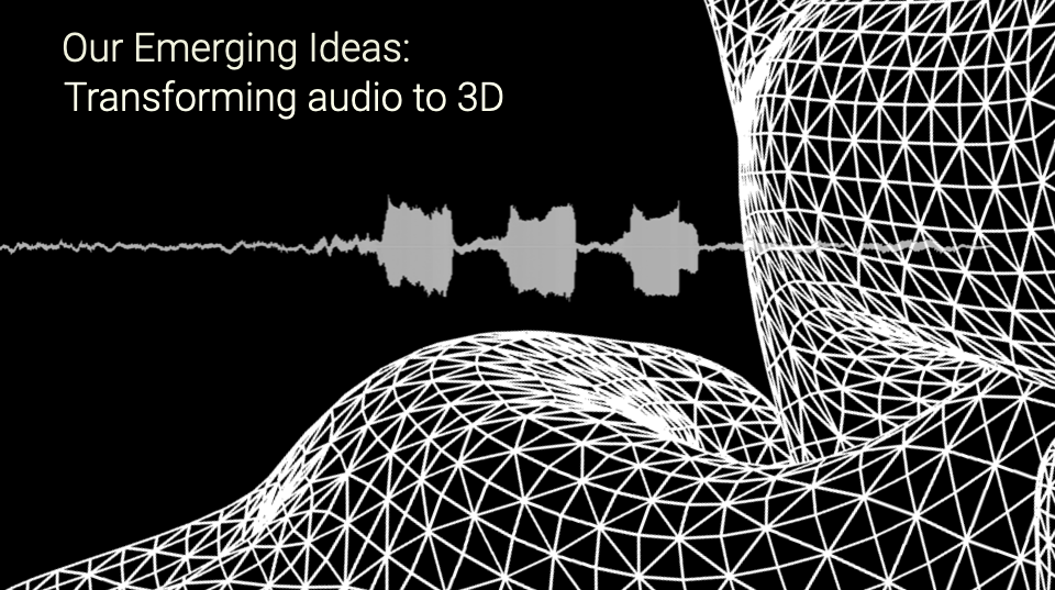 transforming audio to 3d