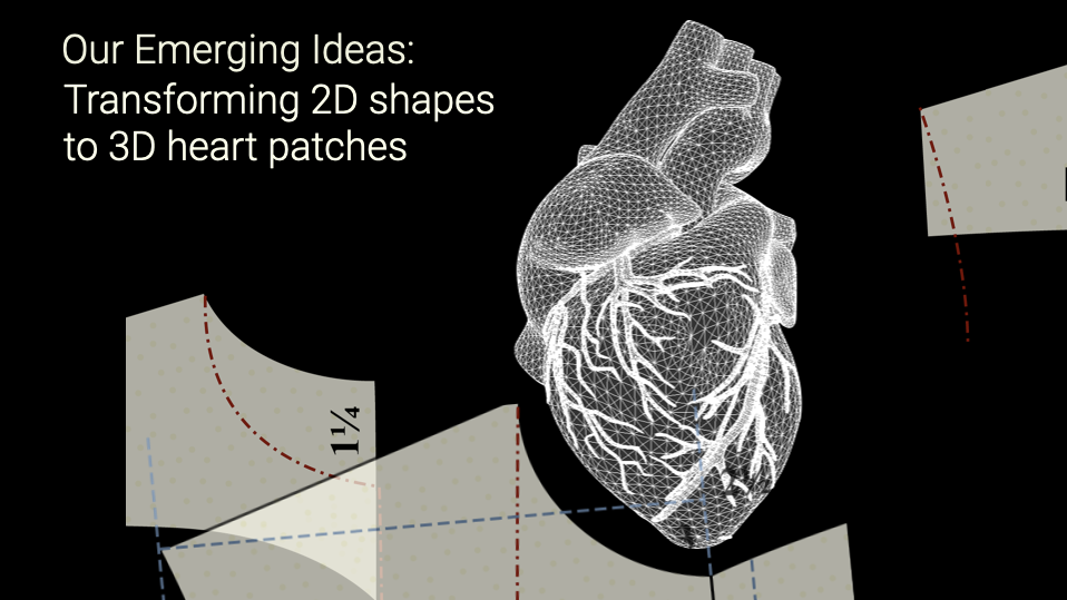 2D patterns to 3D forms